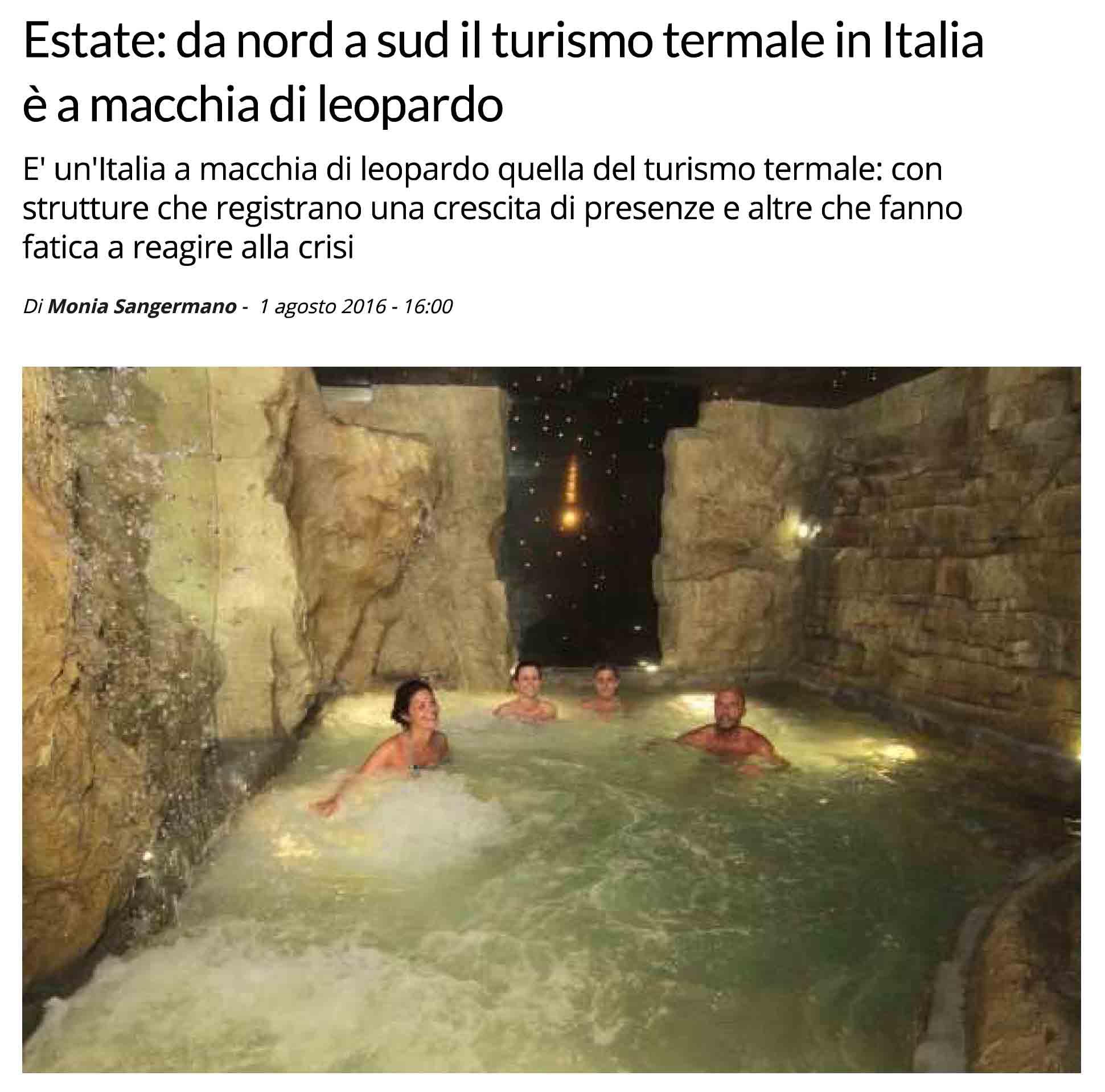 Centro termale benessere e SPA a Roma - Terme di Roma nel Lazio